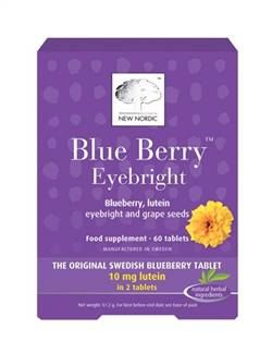 New Nordic Blueberry Eyebright 60 Tabs