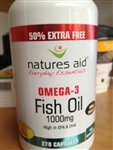 NATURES AID FISH OIL 180 PLUS 90 FREE