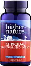 HIGHER NATURE CITRICIDAL TABS 100MG