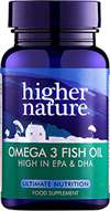 HIGHER NATURE OMEGA 3 FISH OIL CAPS 180