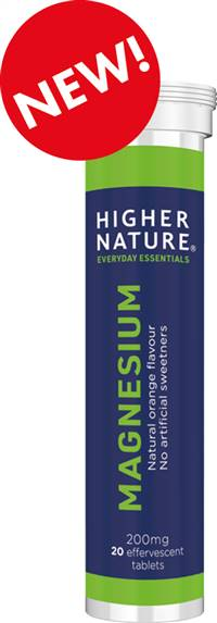 Higher Nature Magnesium Effervescent 20s