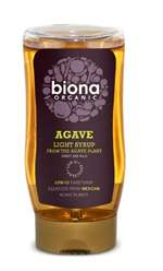 Biona Agave Light Syrup Squeezable 250ml
