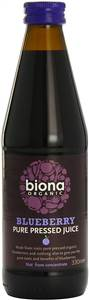 BIONA ORGANIC BLUEBERRY JUICE 330ML