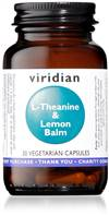 VIRIDIAN L-THEANINE & LEMON BALM 30 CAPS