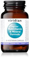 VIRIDIAN HIGH FIVE MULTIVITAMIN 30CAPS