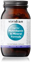 VIRIDIAN HIGH FIVE MULTIVITAMIN 90CAPS