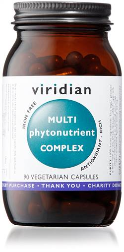 VIRIDIAN MULTI PHYTONUTRIENT 90CAPS