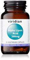 Viridian Alpha Lipoic Acid 200Mg 30 Caps