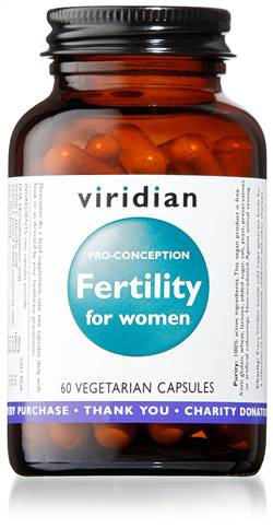 Viridian Fertility For Women 60 Caps
