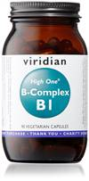 Viridian HIGH ONE Vitamin B1 with B-Complex 90 Caps
