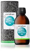 VIRIDIAN ORGANIC BLACK SEED OIL 200ML