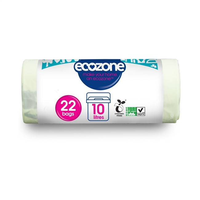 Ecozone Compostable Caddy Liners 22 Bags