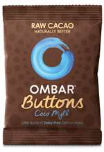 Ombar Buttons Coco Mylk Chocolate Buttons 25G