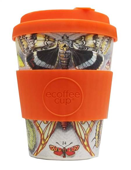 Ecoffee Farfalle Reusable Cup 340ml