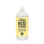 Lillys Eco Clean Washing Up Liquid Lemon 500ml