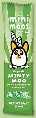 Moo Free Mini Moo Dairy Free Chocolate Mint 20G