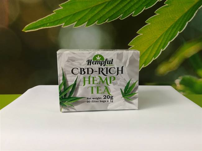 Hempful CBD-Rich Hemp Tea 20 Bags