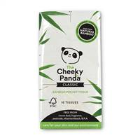 Cheeky Panda 100% Bamboo Pocket Tissue Single Pack