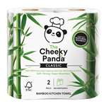 Cheeky Panda 100% Bamboo Kitchen Towel 2 Rolls