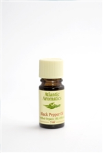 Atlantic Aromatics Black Pepper Oil Organic 5ml
