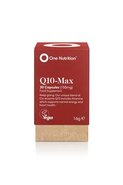 ONE NUTRITION Q10 MAX HEALTHY HEART 30 CAPSULES
