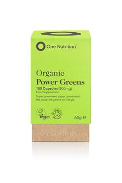 One Nutrition Power Greens 100 Capsules