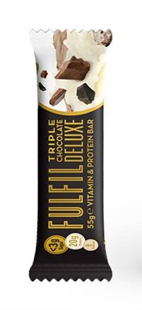 Fulfil Triple Choc Deluxe Bar 55g