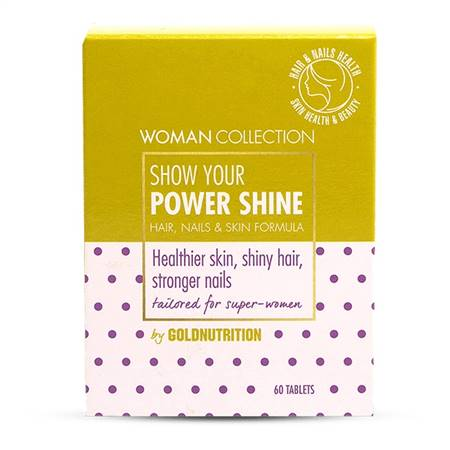 Woman Collection Power Shine Hair Skin & Nails 60 Tabs