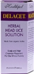 Delacet Herbal Head Lice Solution 100ml