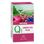QI GREEN TEA PLUS BLUEBERRY & POMEGRANATE 25BAGS