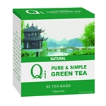 QI GREEN TEA 80BAGS