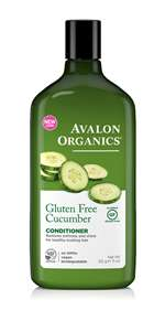 Avalon Organics Gluten Free Cucumber Conditioner 325ml