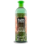 Faith in Nature Organic Aloe Vera Shower Gel / Foam Bath
