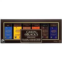 Green & Blacks Classic Miniature Bar Collection 180g