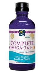 Nordic Naturals Complete Omega 3:6:9 With D-3 237ml