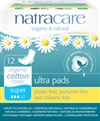 Natracare Organic Cotton Super Maxi Pads 12