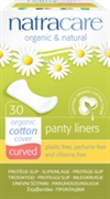 Natracare Panty Liners Curved 30