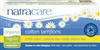 Natracare Organic Tampons Regular Cotton Applicator