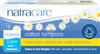 Natracare Organic Tampons Super Cotton Applicator
