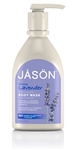 JASON LAVENDER SATIN BODY WASH W/PUMP
