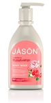 JASON ROSEWATER  BODY WASH WITH PUMP