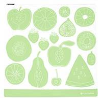LunchSkins Reusable Zippered Gallon Bag Green Fruit