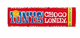 Tony's Chocolonely 32% Milk Chocolate Fairtrade Bar 50g