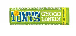 Tony's Chocolonely 51% Dark Almond & Sea Salt Fairtrade Bar 47g