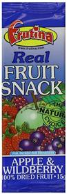 Frutina Apple & Wildberry Dried Fruit Bar 15g