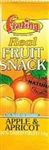 Frutina Apple & Apricot Dried Fruit Bar 15g