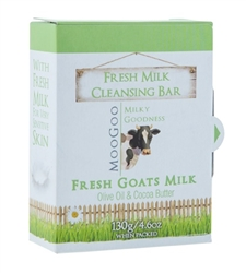 Moogoo Goats Milk Cleansing Bar