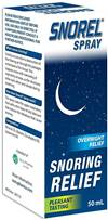 Audisol Snoring Relief Spray 50ml