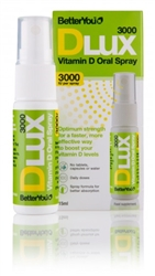 BetterYou D Lux 3000IU Vitamin D Oral Spray 15ml