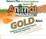 Animal Parade Gold Childrens Chewable Orange Flavour 120 Animals